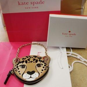 Sale: Kate Spade Leopard Coin Purse